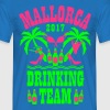 Mallorca 2017 Drinking Team Palmen Beer Sex Party  - Männer T-Shirt