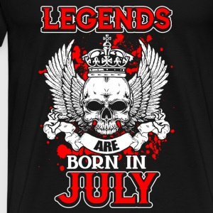 July - legend - birthday - EN Tops - Men's Premium T-Shirt