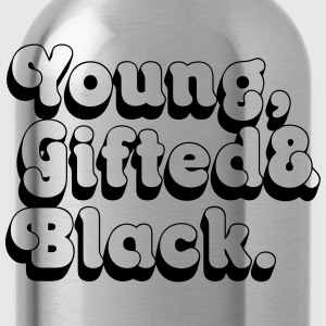 Young, Gifted & Black. Shirts - Water Bottle