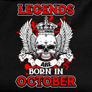 October - legend - birthday - EN Shirts - Kids' Backpack