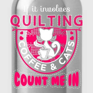 Count me In Quilting - EN T-shirts - Drikkeflaske