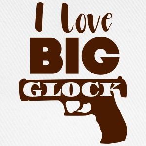 I love big glock T-shirts - Basebollkeps