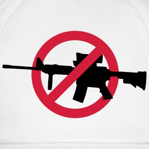 No guns no war T-shirts - Basebollkeps