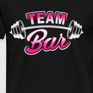 Team Bar - Workout - EN Sweatshirts - Herre premium T-shirt