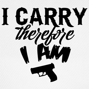 I carry therefore I am T-Shirts - Baseball Cap