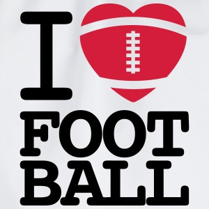 I love football  Magliette - Sacca sportiva