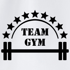 Team Gym Squat Fitness Workout Hantel Caps & Mützen - Turnbeutel