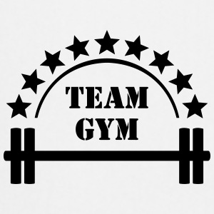Team Gym Squat Fitness Workout Hantel Caps & Mützen - Kochschürze