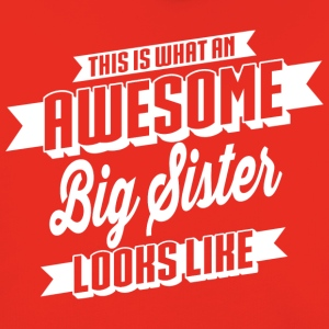 Awesome Big Sister T-Shirts - Kinder Premium Hoodie