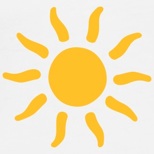 sun sunshine symbols shapes Mugs & Drinkware - Men's Premium T-Shirt