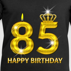85 - happy birthday - birthday - number gold Baby Long Sleeve Shirts - Men's Sweatshirt by Stanley & Stella
