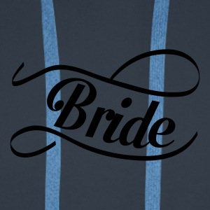 bride_swing Tee shirts - Sweat-shirt à capuche Premium pour hommes