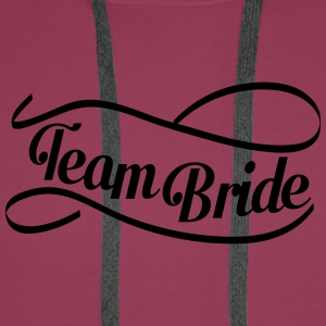 team_bride_swing T-shirts - Mannen Premium hoodie