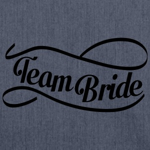 team_bride_swing T-shirts - Schoudertas van gerecycled materiaal