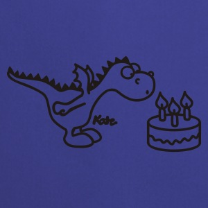 Czarny happy birthday, Little Dragon Gadżety - Fartuch kuchenny