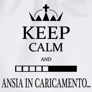 KEEP CALM and Ansiaaa - Sacca sportiva