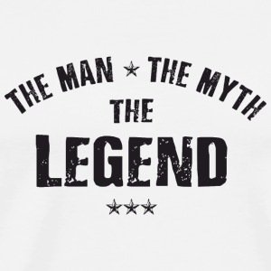 The Man The Myth The Legend Sonstige - Männer Premium T-Shirt