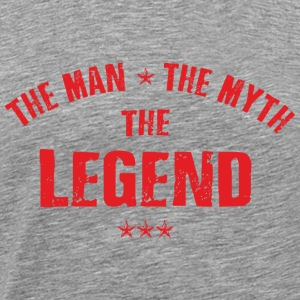 The Man The Myth The Legend Sportbekleidung - Männer Premium T-Shirt