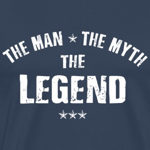 The Man The Myth The Legend Langarmshirts - Männer Premium T-Shirt