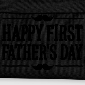 Happy 1st  ( first ) father's day  T-shirts - Rygsæk til børn