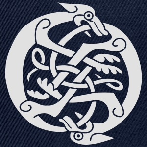 Two Celtic Beasts T-shirts - Snapbackkeps