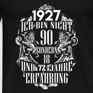 1927-90 years of experience - 2017 - DE Baby Bodysuits - Men's Premium T-Shirt