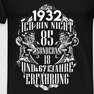 1932-85 years of experience - 2017 - DE Hoodies & Sweatshirts - Men's Premium T-Shirt