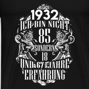 1932-85 years of experience - 2017 - DE Long Sleeve Shirts - Men's Premium T-Shirt