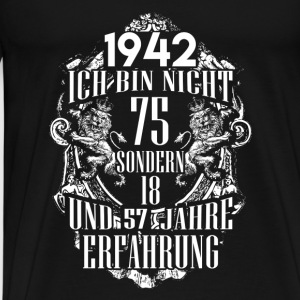 1942-75 years of experience - 2017 - DE Long Sleeve Shirts - Men's Premium T-Shirt