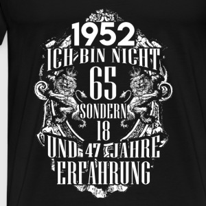1952-65 years of experience - 2017 - DE Tops - Men's Premium T-Shirt