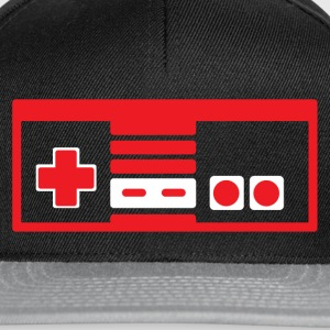 RETRO NES RED - Snapback Cap