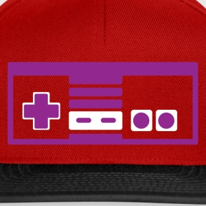 RETRO NES PURPLE - Snapback Cap