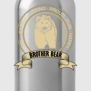 Fiercely Protective Brother Bear T-Shirts - Water Bottle