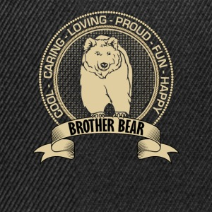 Fiercely Protective Brother Bear T-Shirts - Snapback Cap
