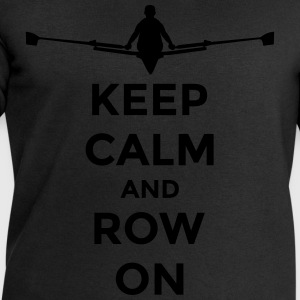 keep calm and row on rudern Verein rowing Boot Koszulki - Bluza męska Stanley & Stella