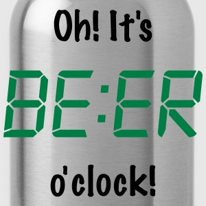 Oh! It's BEER o'clock  Aprons - Water Bottle