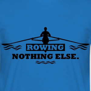 rowing nothing else Rudern Skull Boot Skiff Sweaters - Mannen T-shirt