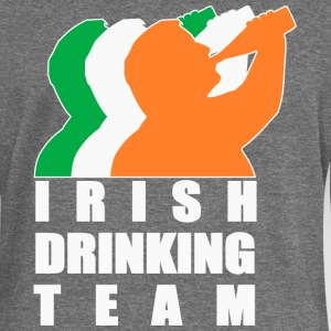 Irish Drinking Team T-Shirts - Women's Boat Neck Long Sleeve Top