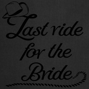 last_ride_for_the_bride Magliette - Grembiule da cucina