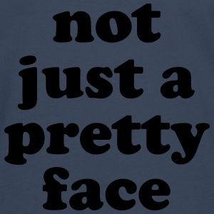 Not just a pretty face Babybody - Premium langermet T-skjorte for menn