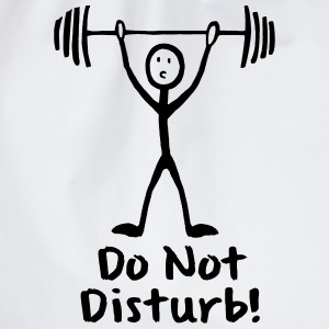 STRICHMÄNNCHEN, DO NOT DISTURB!  T-SHIRT - Turnbeutel