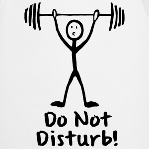 STRICHMÄNNCHEN, DO NOT DISTURB!  T-SHIRT - Kochschürze