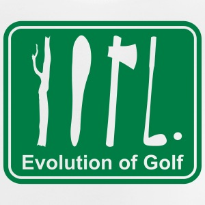 Evolution of Golf, Golfschläger, Golf T-Shirts - Baby T-Shirt