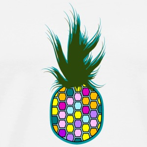Color Ananas Gensere - Premium T-skjorte for menn