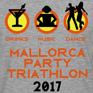 Mallorca Party Triathlon 2017 Tops - Männer Premium Langarmshirt