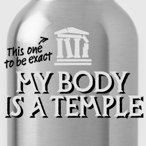 My body is a temple 2c T-shirts - Drinkfles