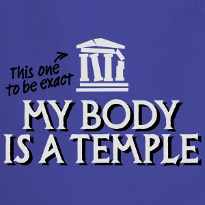 My body is a temple 2c T-paidat - Esiliina