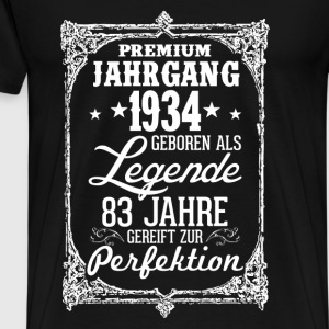83 1934-legend - perfection - 2017 - DE Tops - Men's Premium T-Shirt