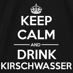 Drinks KC Kirschwasser Bags & Backpacks - Men's Premium T-Shirt