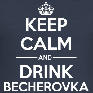 Drinks KC Becherovka Hoodies & Sweatshirts - Men's Slim Fit T-Shirt